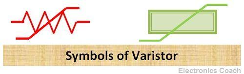 Varistor Symbol