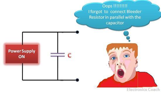question image bleeder resistor