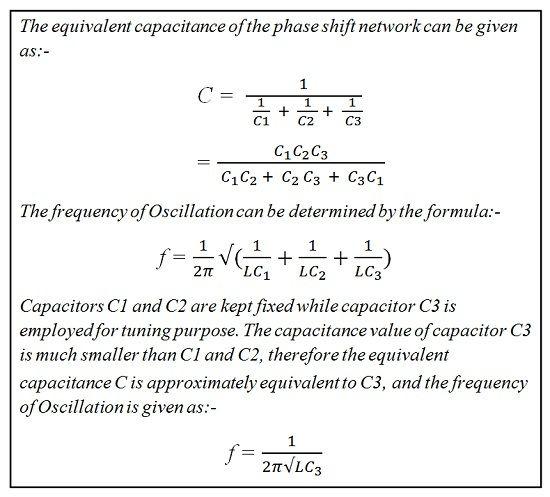 equation of clapp oscillator