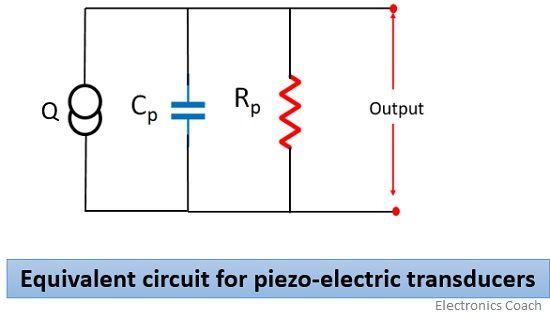 equivalent circuit for piezoelectric effect