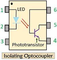 isolating optocoupler