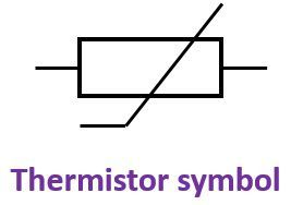 symbol of thermistor