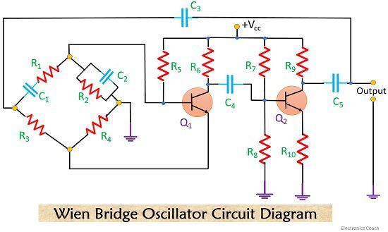 wein bridge oscillator circuit 1