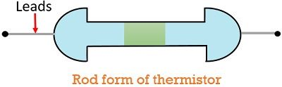 rod form of thermistor