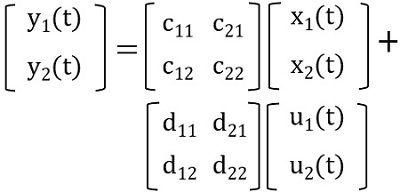 output matrix
