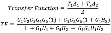 solution of example 1 of mason's gain formula