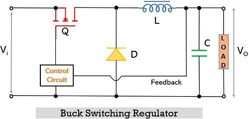 circuit of buck switching regulator