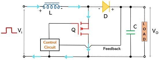 operation of boost switching regulator1