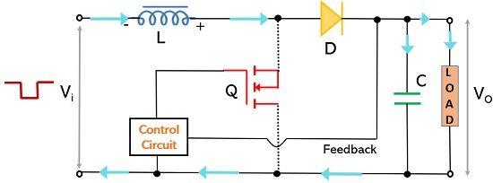 operation of boost switching regulator2