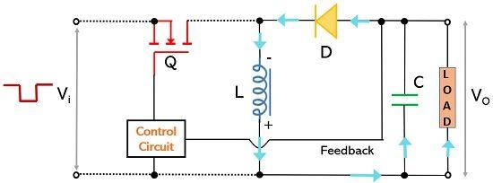operation of buck boost switching regulator2