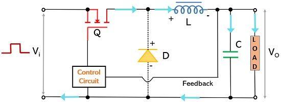 operation of buck switching regulator1