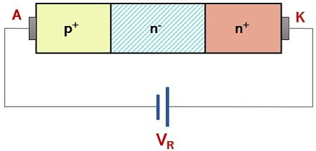reverse biased condition of power diode