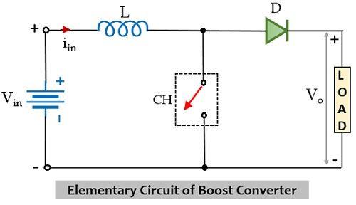 circuit of boost converter